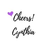 Cheers!Cynthia