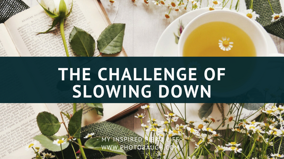 The Challenge of Slowing Down